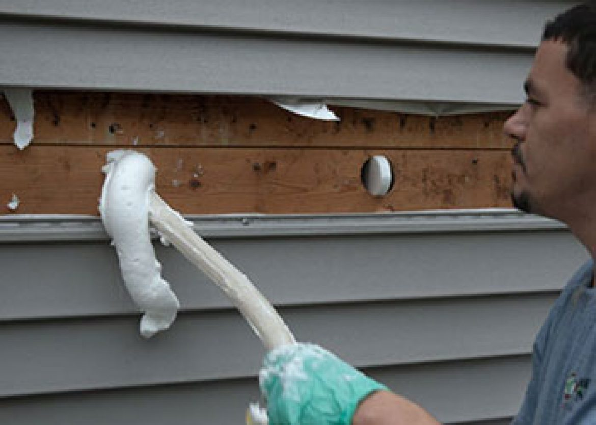 Fill Your Home With Injection Foam Insulation Today